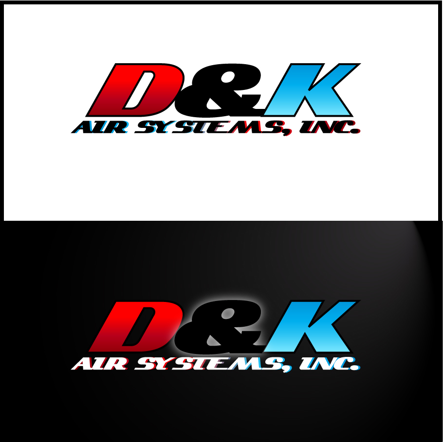 Logo Design by trav - Entry No. 79 in the Logo Design Contest D&K Air Systems, Inc..