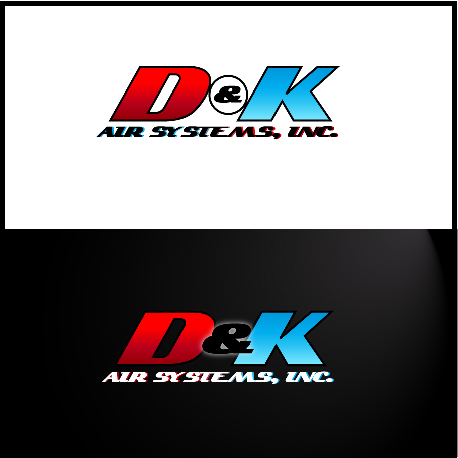 Logo Design by trav - Entry No. 80 in the Logo Design Contest D&K Air Systems, Inc..
