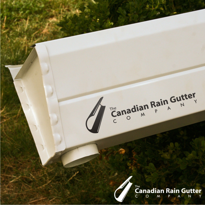 Logo Design by Private User - Entry No. 17 in the Logo Design Contest The Canadian Rain Gutter Company.