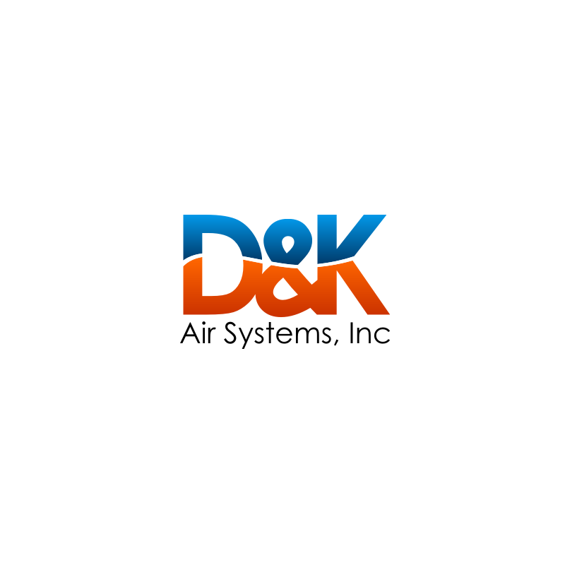 Logo Design by untung - Entry No. 87 in the Logo Design Contest D&K Air Systems, Inc..