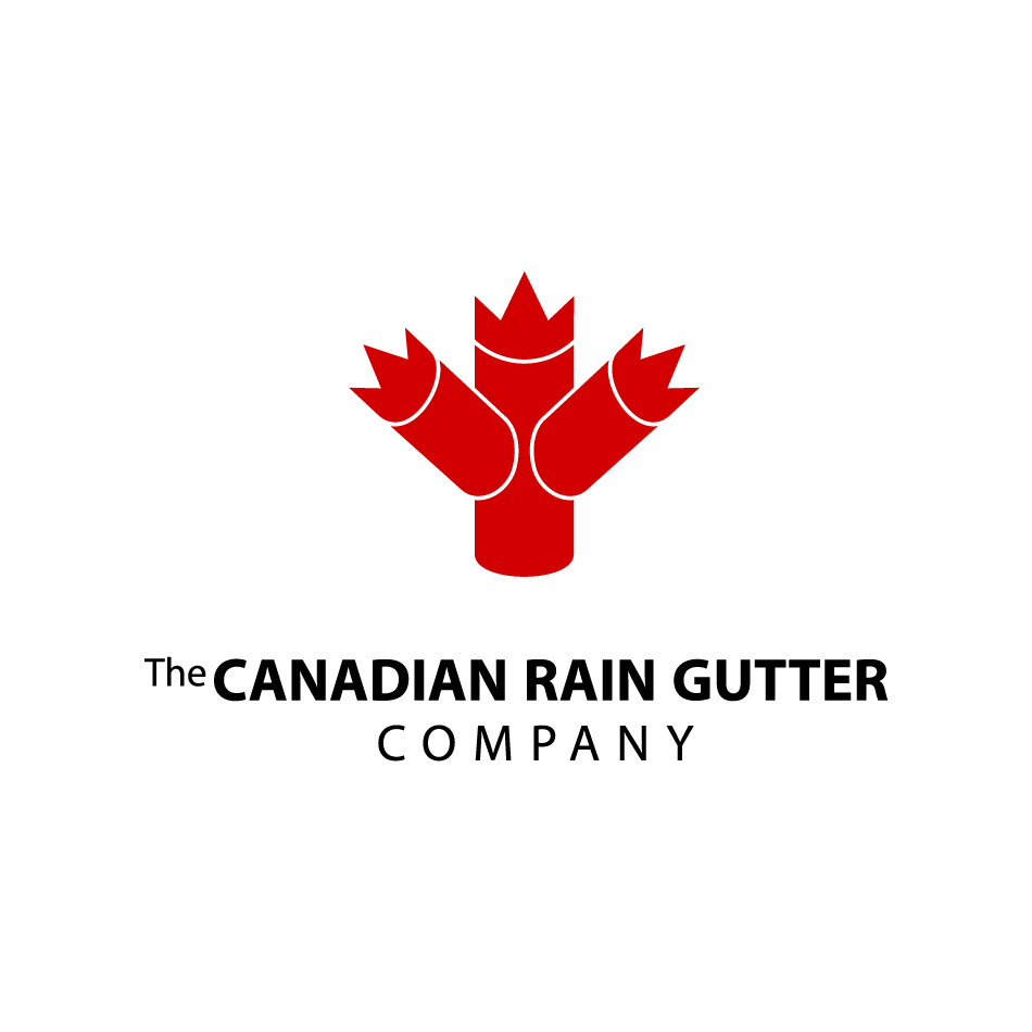 Logo Design by garavi - Entry No. 18 in the Logo Design Contest The Canadian Rain Gutter Company.