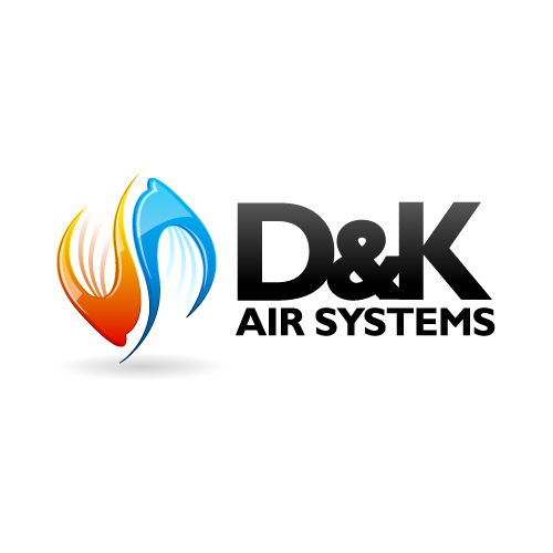 Logo Design by SilverEagle - Entry No. 98 in the Logo Design Contest D&K Air Systems, Inc..