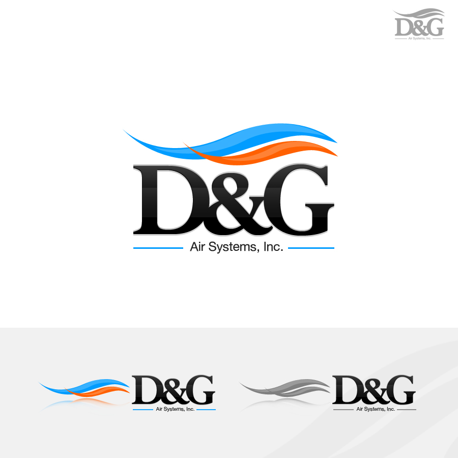 Logo Design by rockpinoy - Entry No. 99 in the Logo Design Contest D&K Air Systems, Inc..