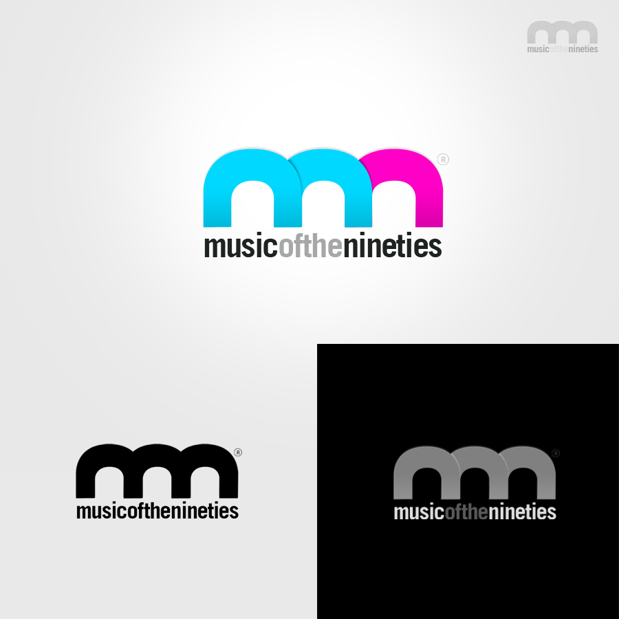Logo Design by rockpinoy - Entry No. 10 in the Logo Design Contest Music of the Nineties Logo.