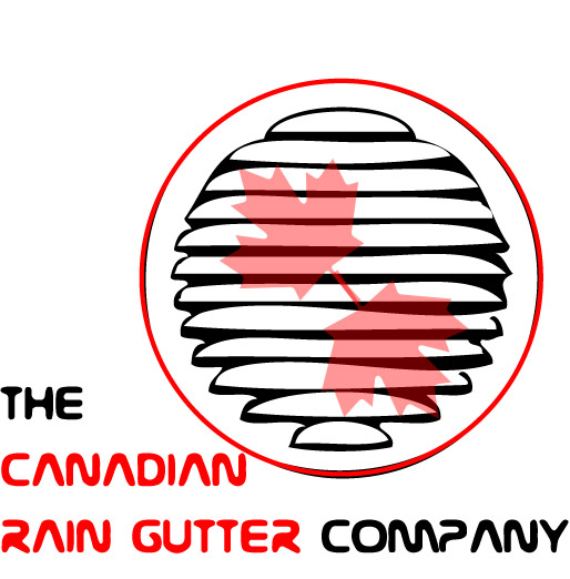 Logo Design by Fatima  - Entry No. 23 in the Logo Design Contest The Canadian Rain Gutter Company.
