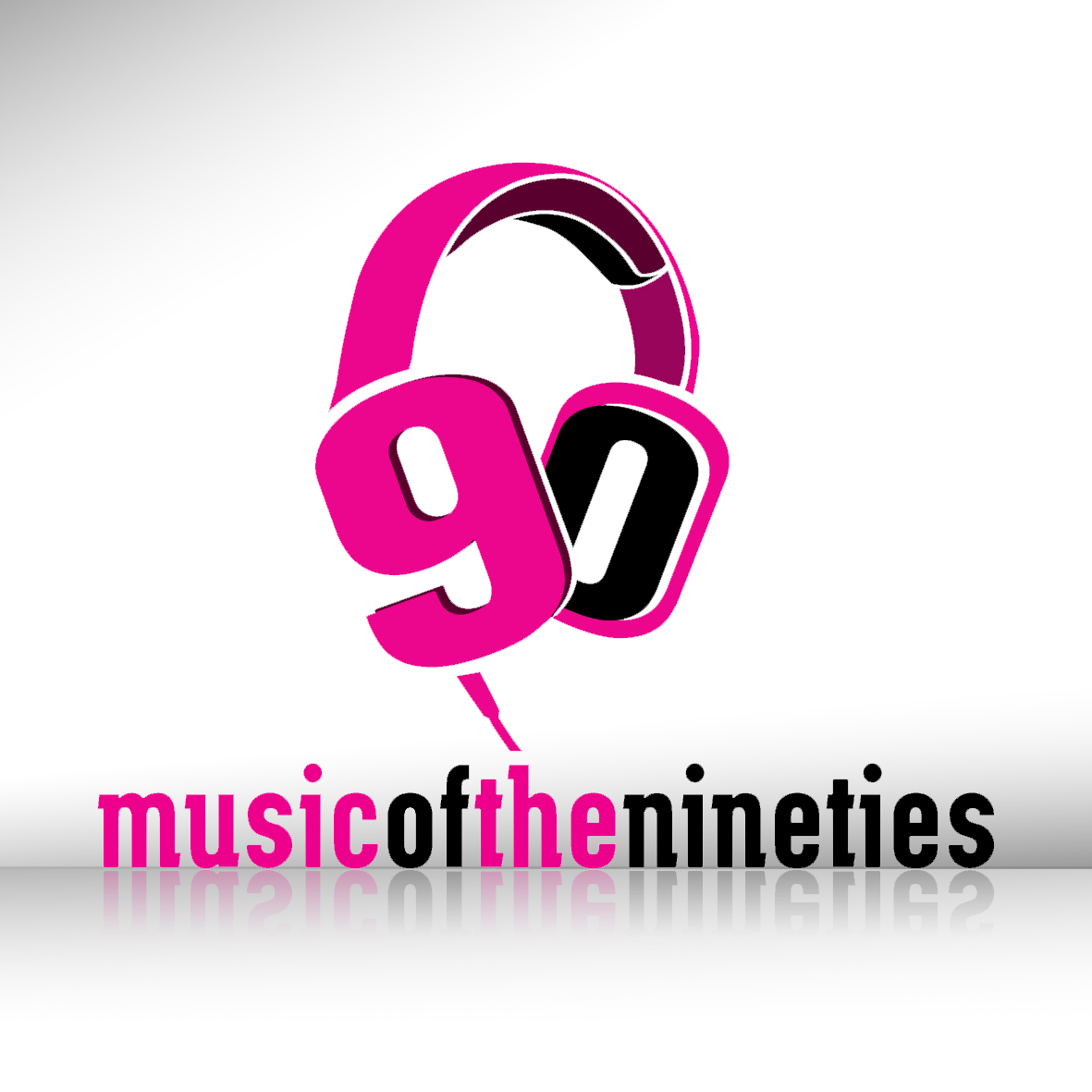 Logo Design by Alexander Ioannidis - Entry No. 11 in the Logo Design Contest Music of the Nineties Logo.