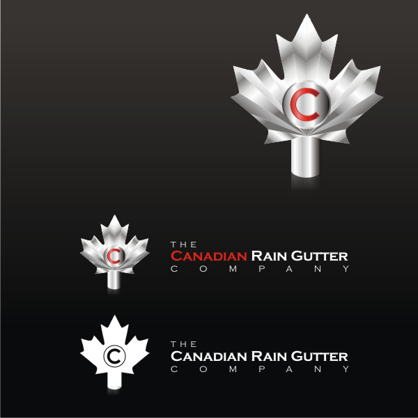 Logo Design by fr - Entry No. 29 in the Logo Design Contest The Canadian Rain Gutter Company.