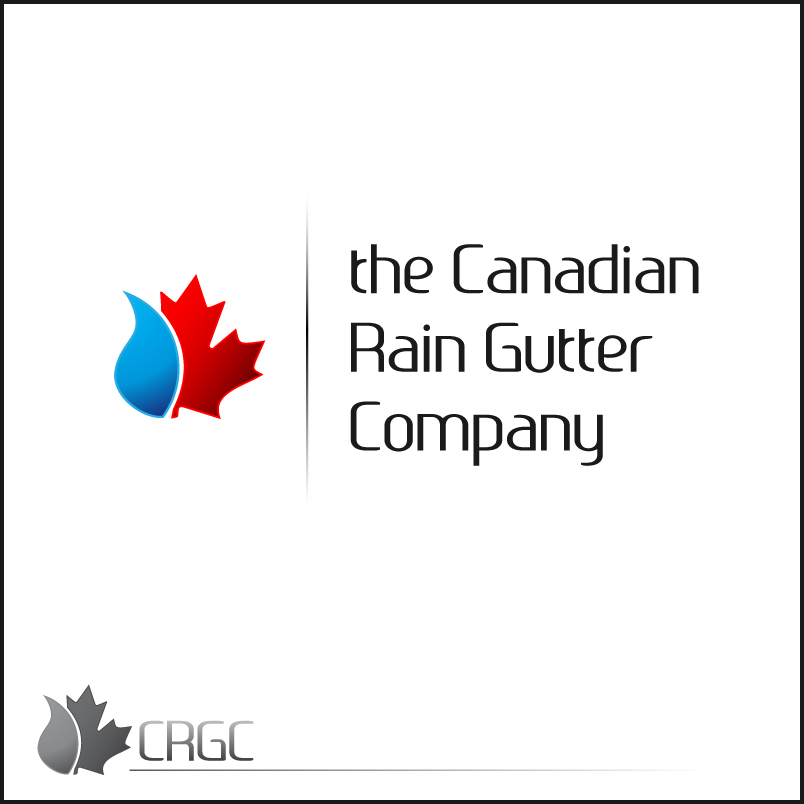 Logo Design by trav - Entry No. 31 in the Logo Design Contest The Canadian Rain Gutter Company.
