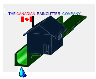 Logo Design by VAC ATV - Entry No. 38 in the Logo Design Contest The Canadian Rain Gutter Company.