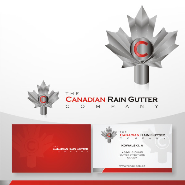 Logo Design by fr - Entry No. 41 in the Logo Design Contest The Canadian Rain Gutter Company.