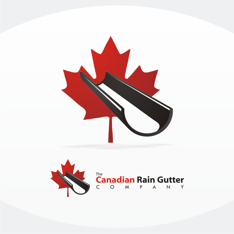 Logo Design by Private User - Entry No. 43 in the Logo Design Contest The Canadian Rain Gutter Company.
