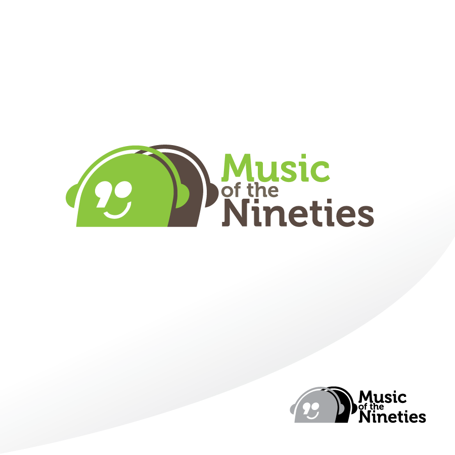 Logo Design by nohan - Entry No. 19 in the Logo Design Contest Music of the Nineties Logo.