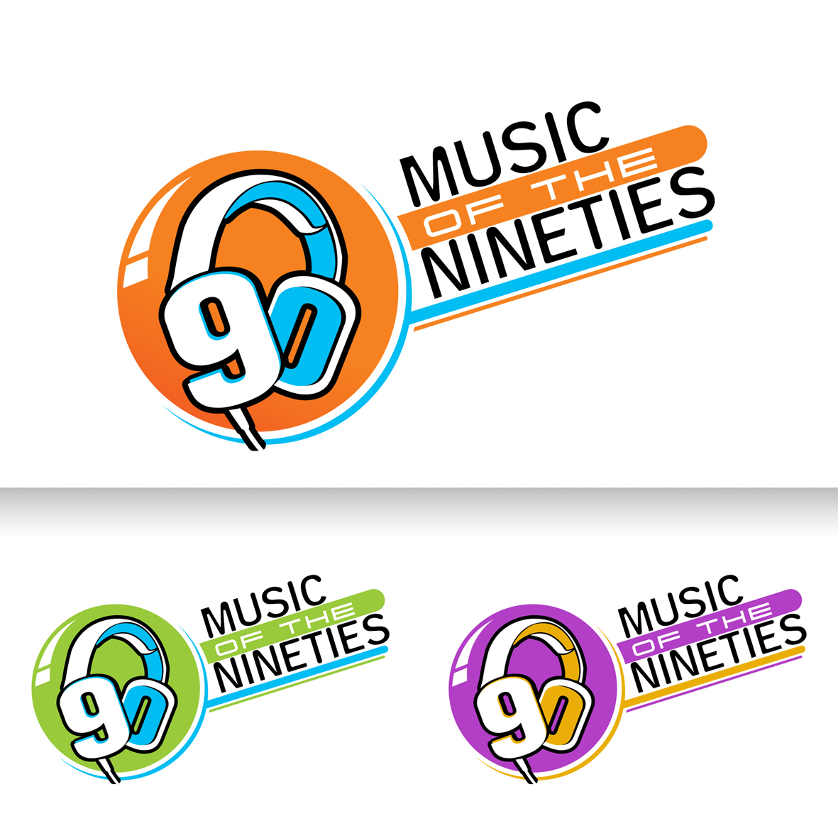 Logo Design by Alexander Ioannidis - Entry No. 32 in the Logo Design Contest Music of the Nineties Logo.