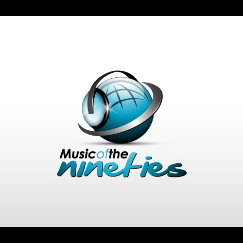 Logo Design by Les-Graphistes - Entry No. 34 in the Logo Design Contest Music of the Nineties Logo.