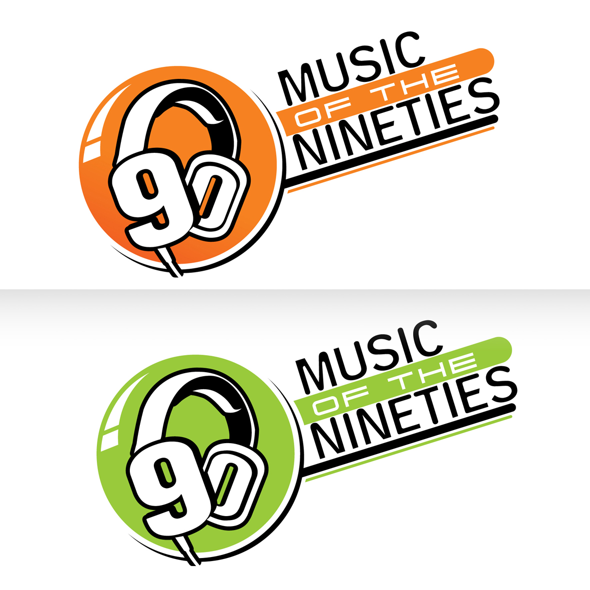 Logo Design by Alexander Ioannidis - Entry No. 36 in the Logo Design Contest Music of the Nineties Logo.