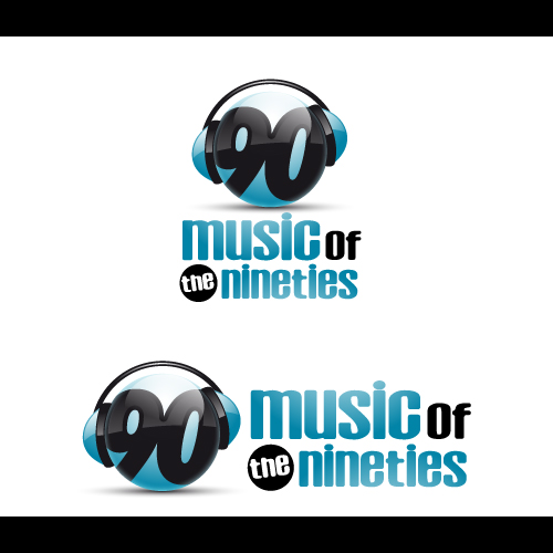 Logo Design by Les-Graphistes - Entry No. 37 in the Logo Design Contest Music of the Nineties Logo.