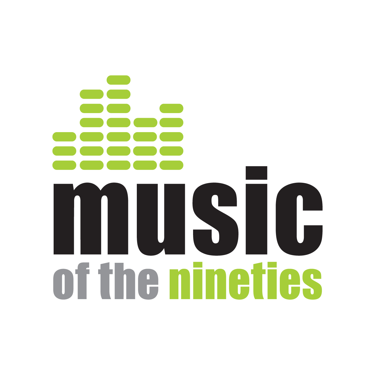 Logo Design by marikisoti - Entry No. 39 in the Logo Design Contest Music of the Nineties Logo.