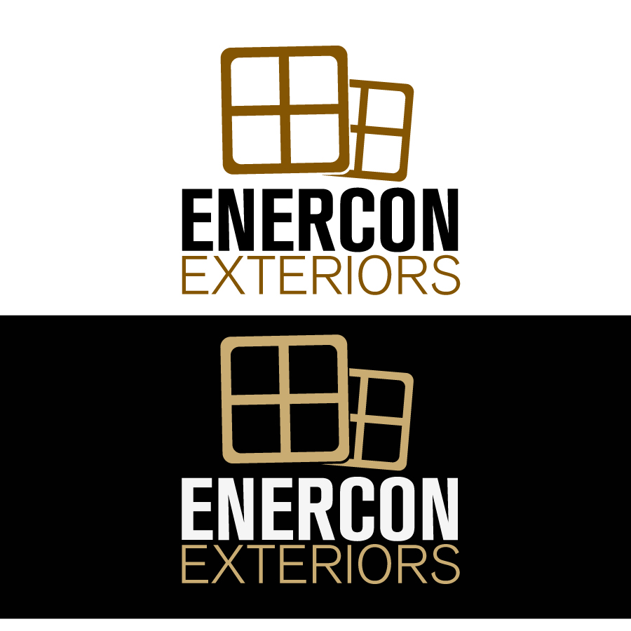 Logo Design by JoshuaCaleb - Entry No. 1 in the Logo Design Contest Enercon Exteriors.