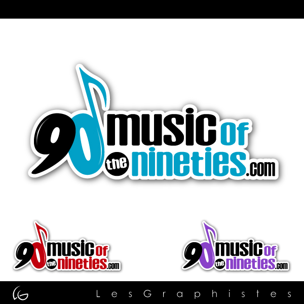 Logo Design by Les-Graphistes - Entry No. 45 in the Logo Design Contest Music of the Nineties Logo.