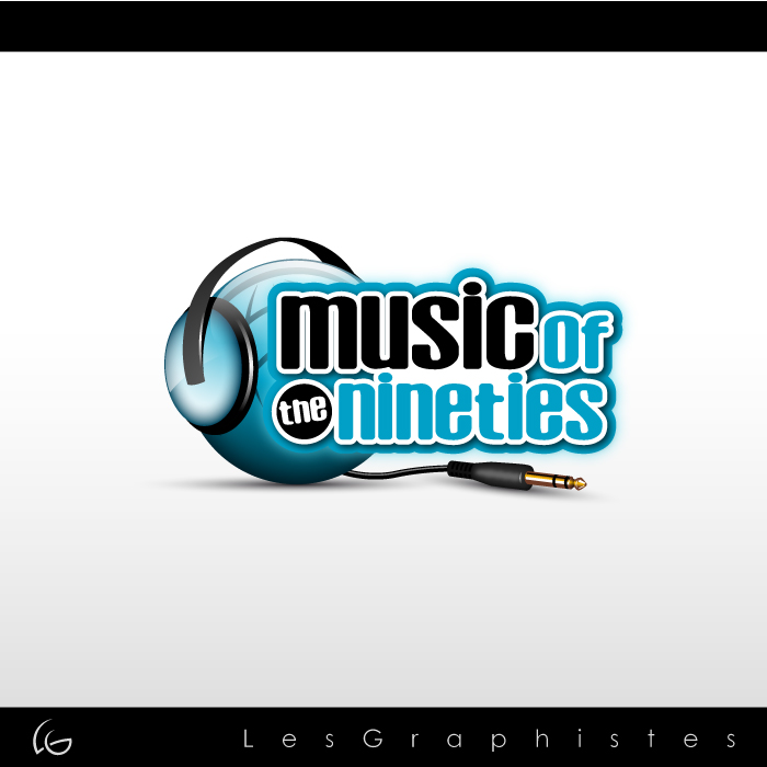 Logo Design by Les-Graphistes - Entry No. 46 in the Logo Design Contest Music of the Nineties Logo.