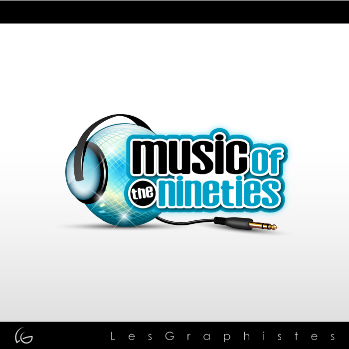 Logo Design by Les-Graphistes - Entry No. 47 in the Logo Design Contest Music of the Nineties Logo.