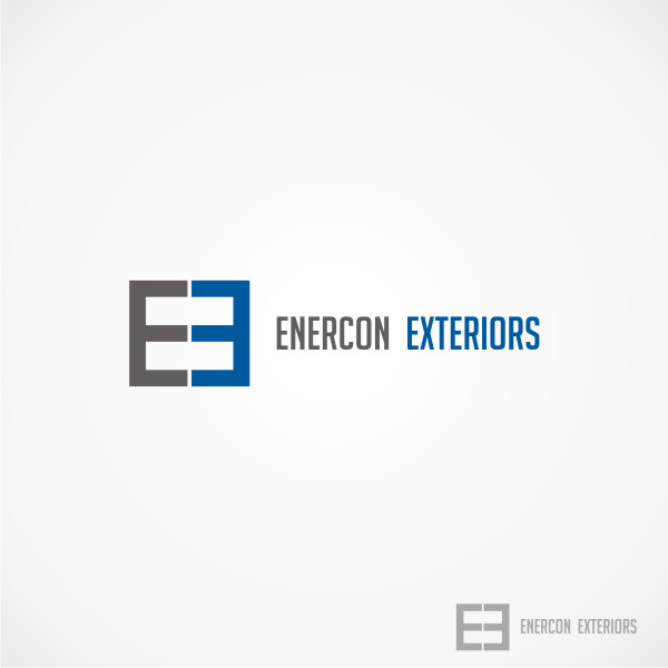Logo Design by Private User - Entry No. 3 in the Logo Design Contest Enercon Exteriors.