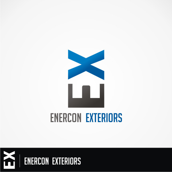 Logo Design by Private User - Entry No. 4 in the Logo Design Contest Enercon Exteriors.