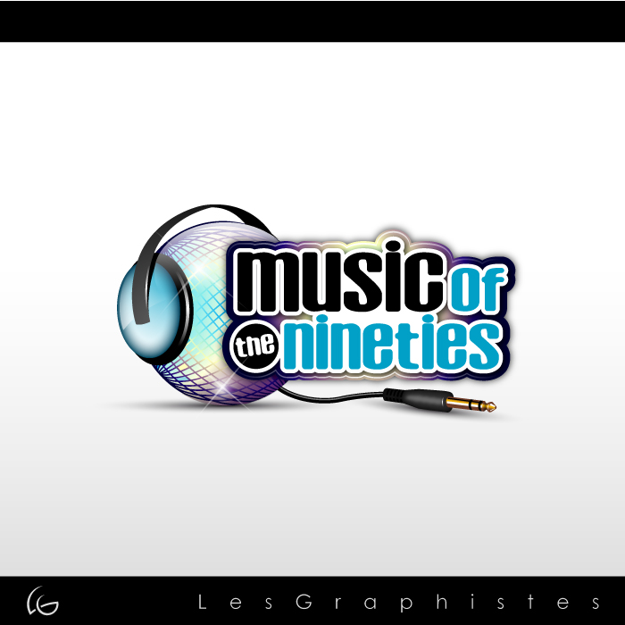 Logo Design by Les-Graphistes - Entry No. 48 in the Logo Design Contest Music of the Nineties Logo.