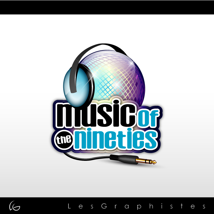 Logo Design by Les-Graphistes - Entry No. 49 in the Logo Design Contest Music of the Nineties Logo.