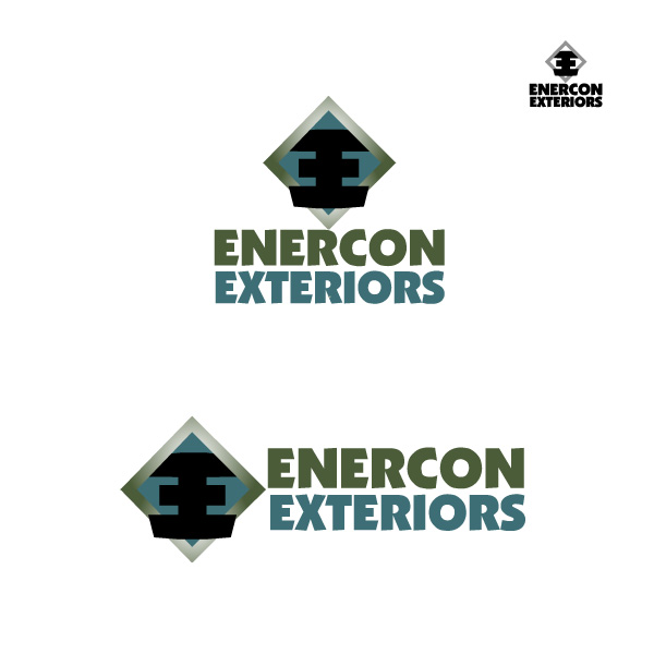 Logo Design by Deborah Wise - Entry No. 5 in the Logo Design Contest Enercon Exteriors.