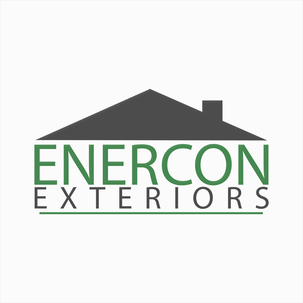 Logo Design by bambino - Entry No. 6 in the Logo Design Contest Enercon Exteriors.
