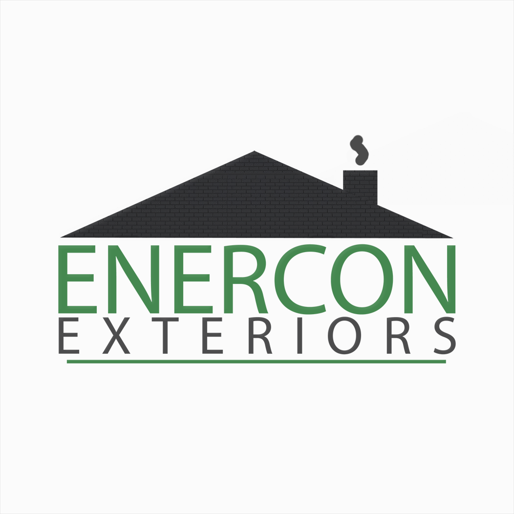 Logo Design by bambino - Entry No. 7 in the Logo Design Contest Enercon Exteriors.