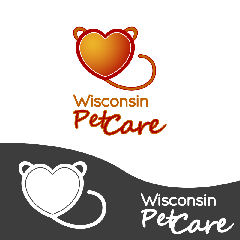 Logo Design by Amya - Entry No. 37 in the Logo Design Contest Wisconsin Pet Care.