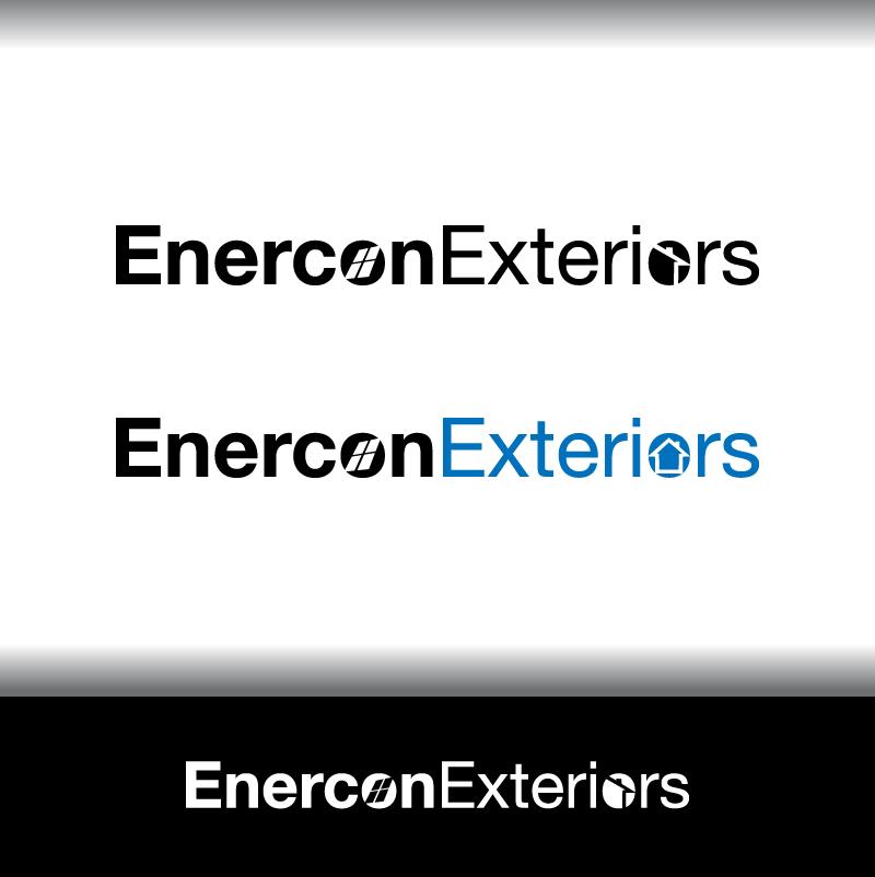 Logo Design by trav - Entry No. 9 in the Logo Design Contest Enercon Exteriors.
