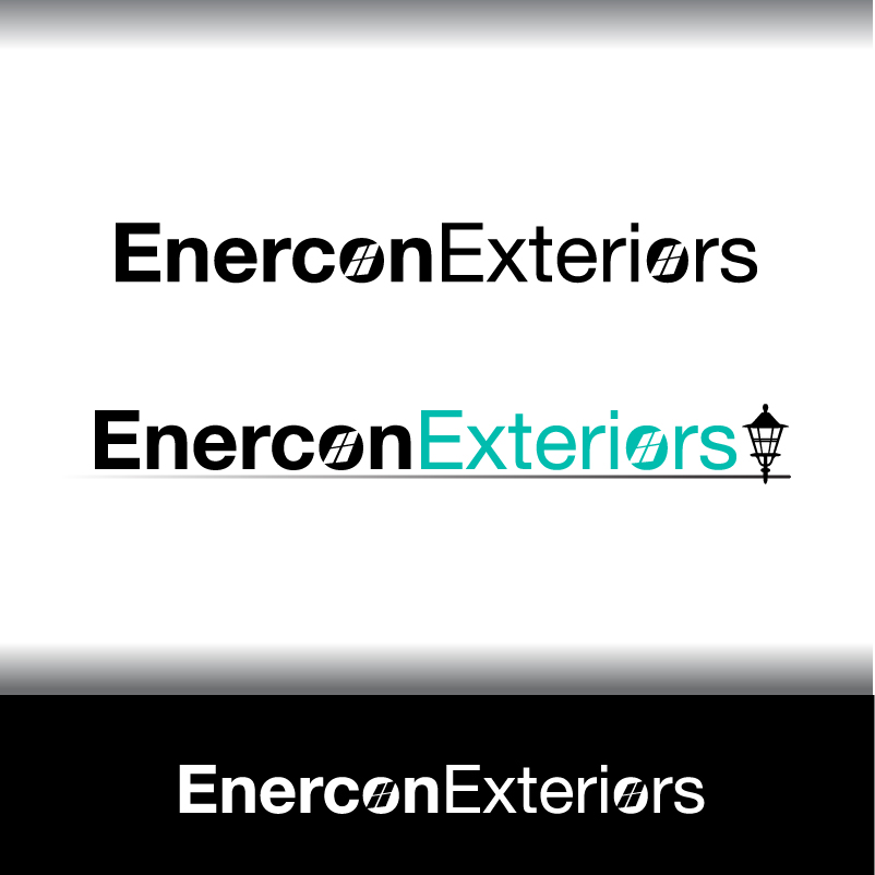 Logo Design by trav - Entry No. 10 in the Logo Design Contest Enercon Exteriors.