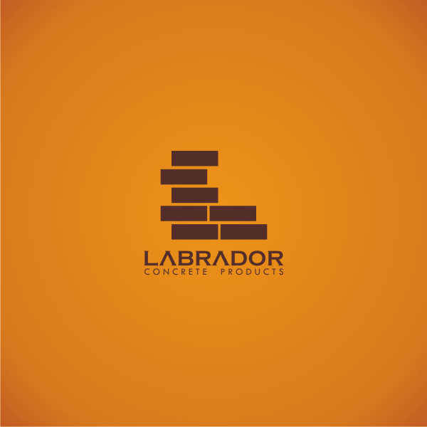 Logo Design by Private User - Entry No. 3 in the Logo Design Contest Logo for Labrador Concrete Products.