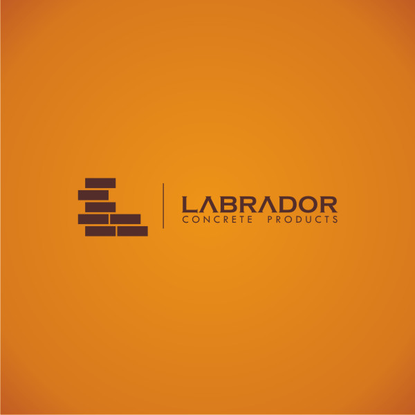 Logo Design by Private User - Entry No. 4 in the Logo Design Contest Logo for Labrador Concrete Products.