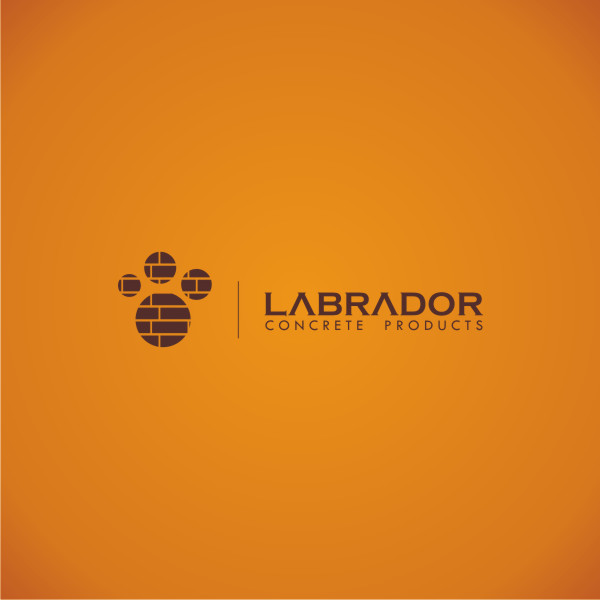 Logo Design by Private User - Entry No. 5 in the Logo Design Contest Logo for Labrador Concrete Products.