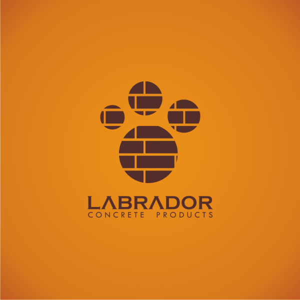Logo Design by Private User - Entry No. 6 in the Logo Design Contest Logo for Labrador Concrete Products.