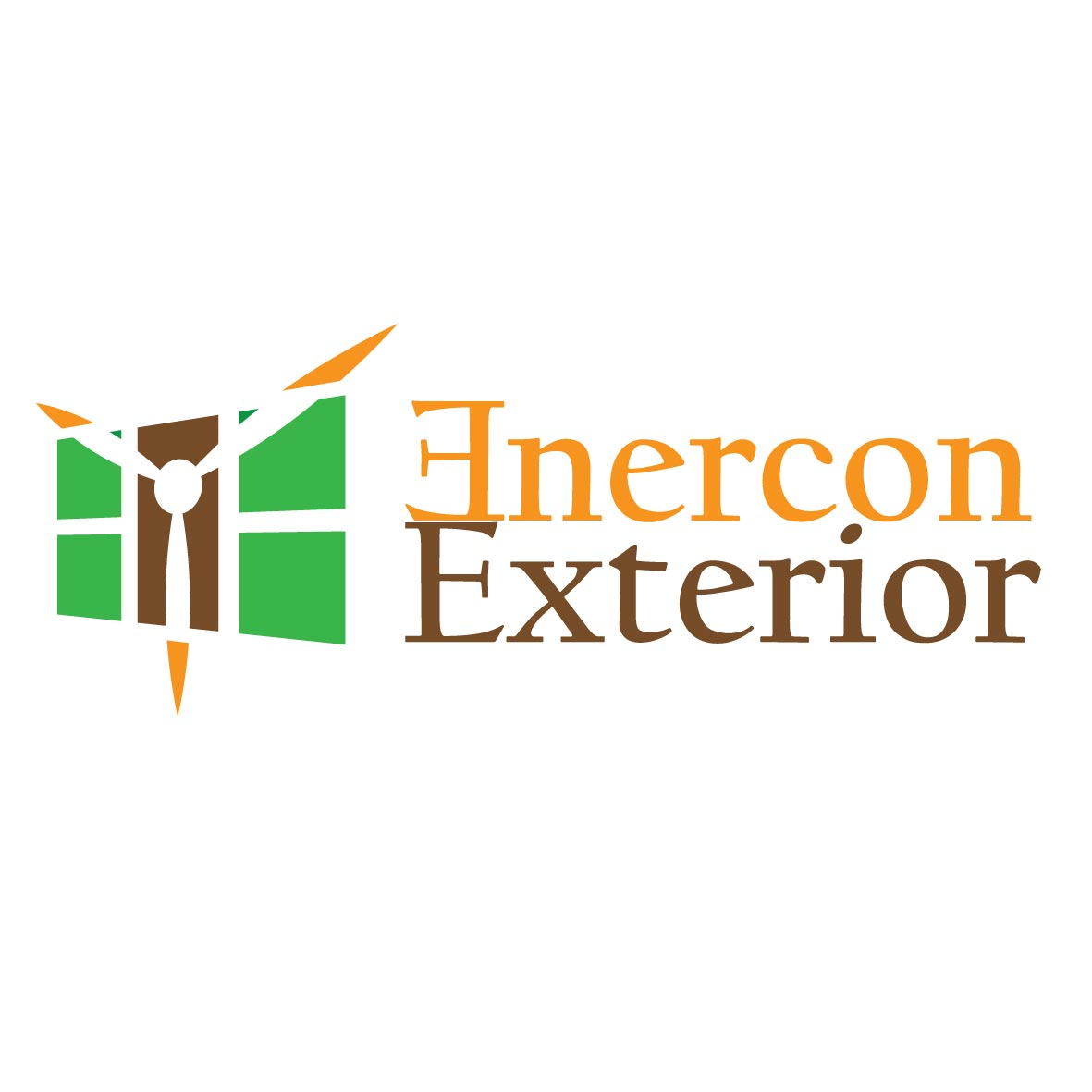 Logo Design by koeyD - Entry No. 11 in the Logo Design Contest Enercon Exteriors.