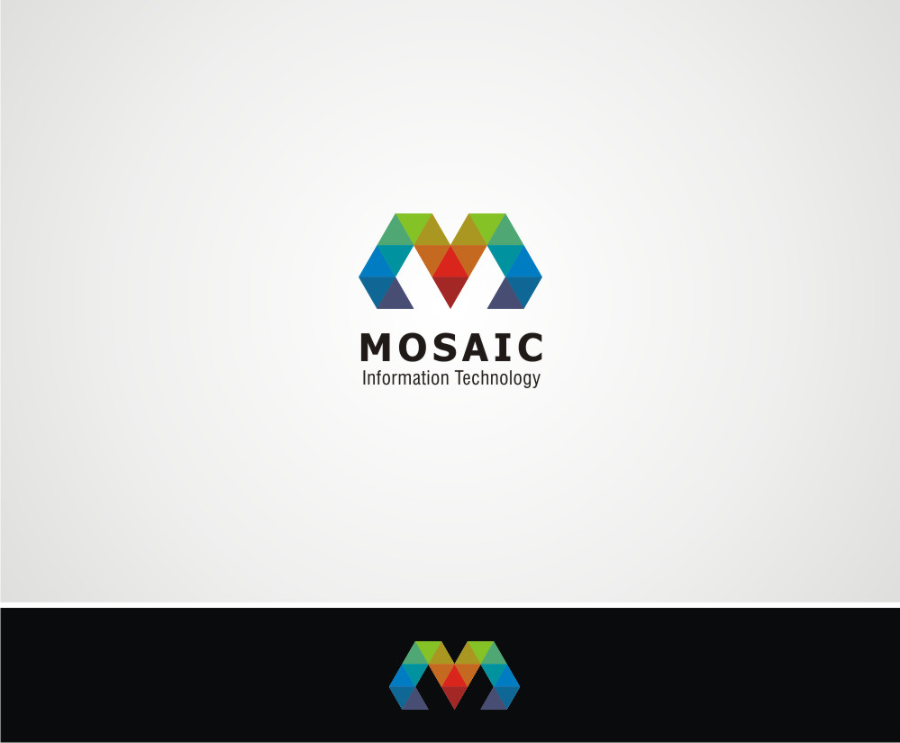 Logo Design by Private User - Entry No. 28 in the Logo Design Contest Mosaic Information Technology Logo Design.