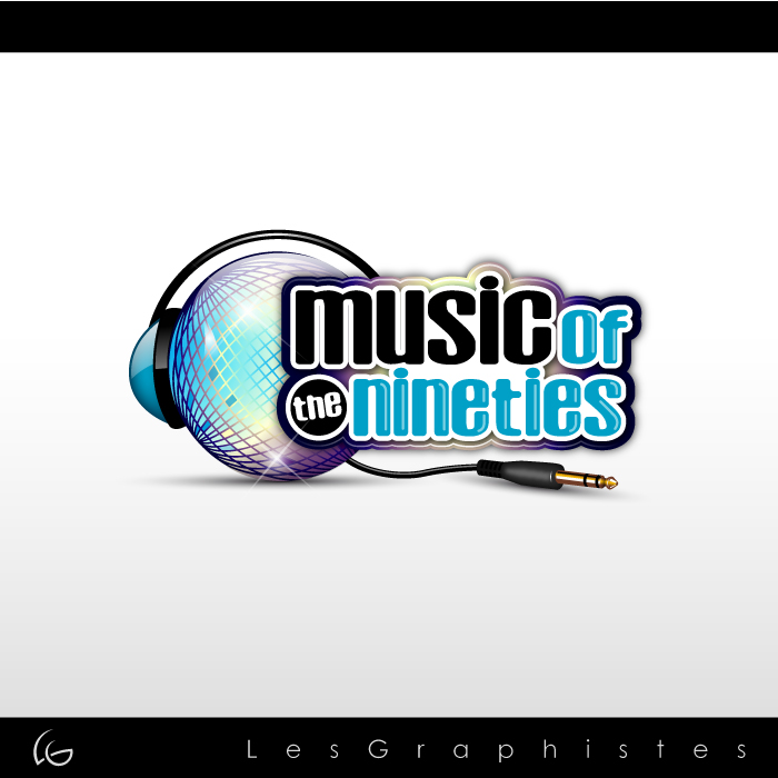 Logo Design by Les-Graphistes - Entry No. 52 in the Logo Design Contest Music of the Nineties Logo.
