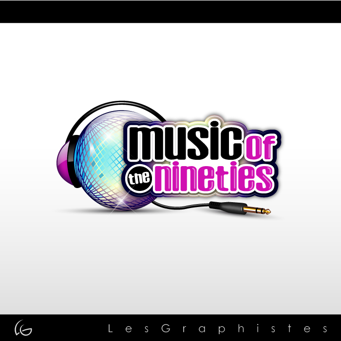 Logo Design by Les-Graphistes - Entry No. 53 in the Logo Design Contest Music of the Nineties Logo.