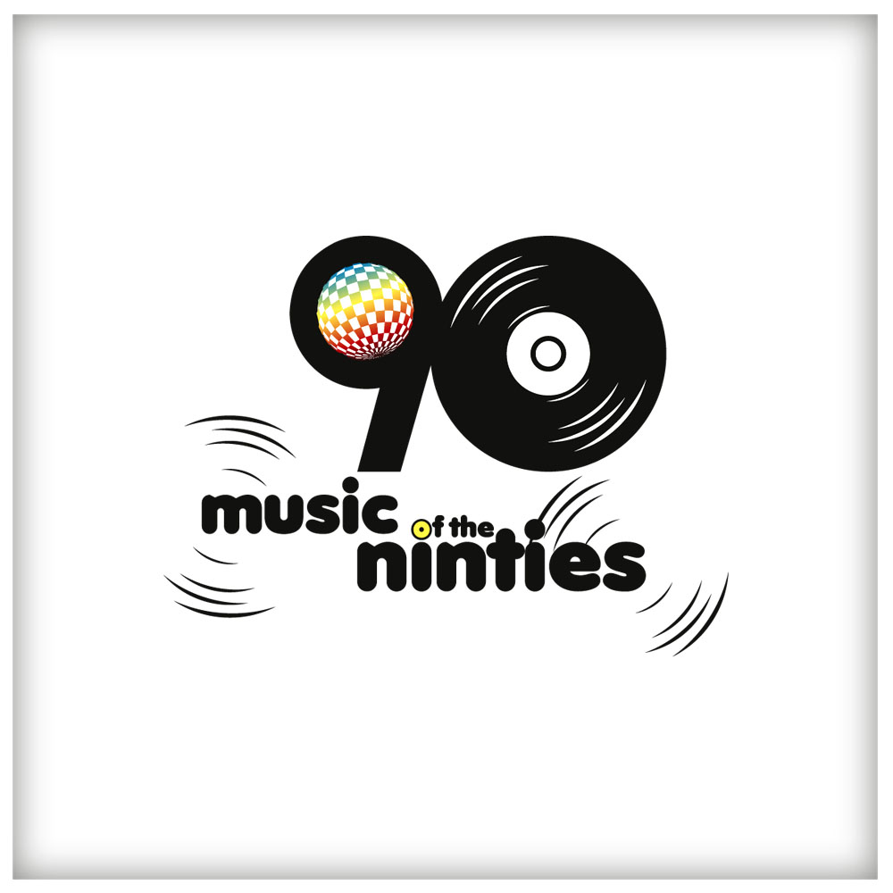 Logo Design by Adrian Chambre - Entry No. 55 in the Logo Design Contest Music of the Nineties Logo.