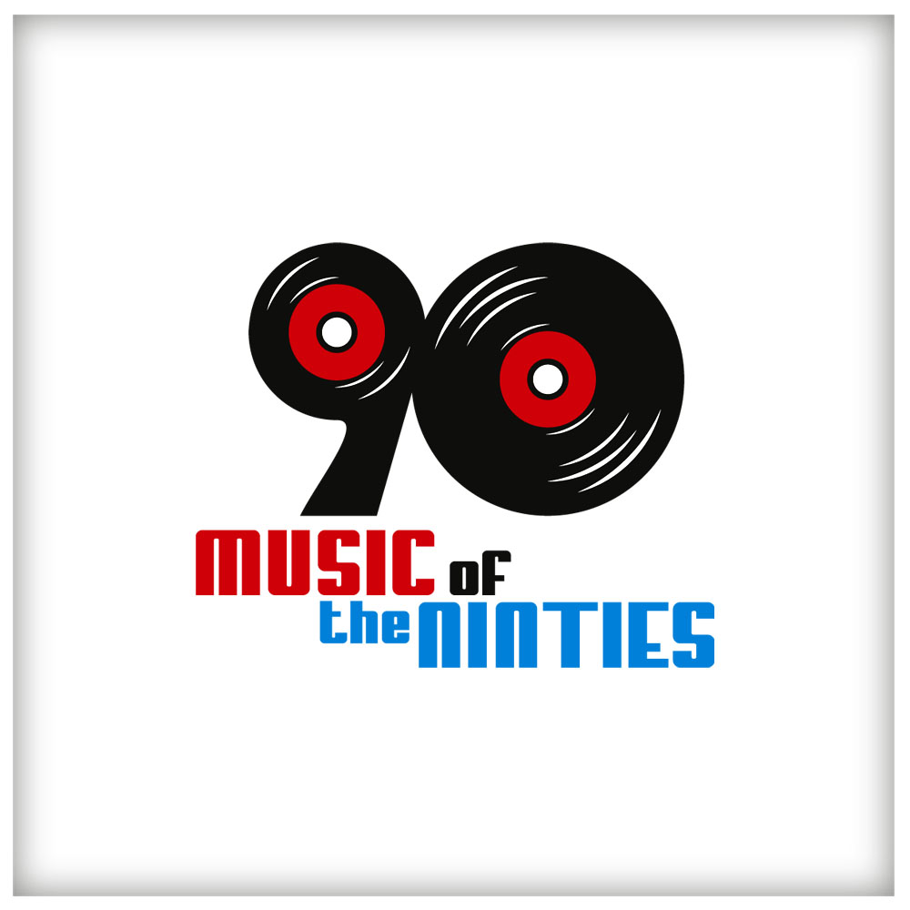 Logo Design by Adrian Chambre - Entry No. 56 in the Logo Design Contest Music of the Nineties Logo.