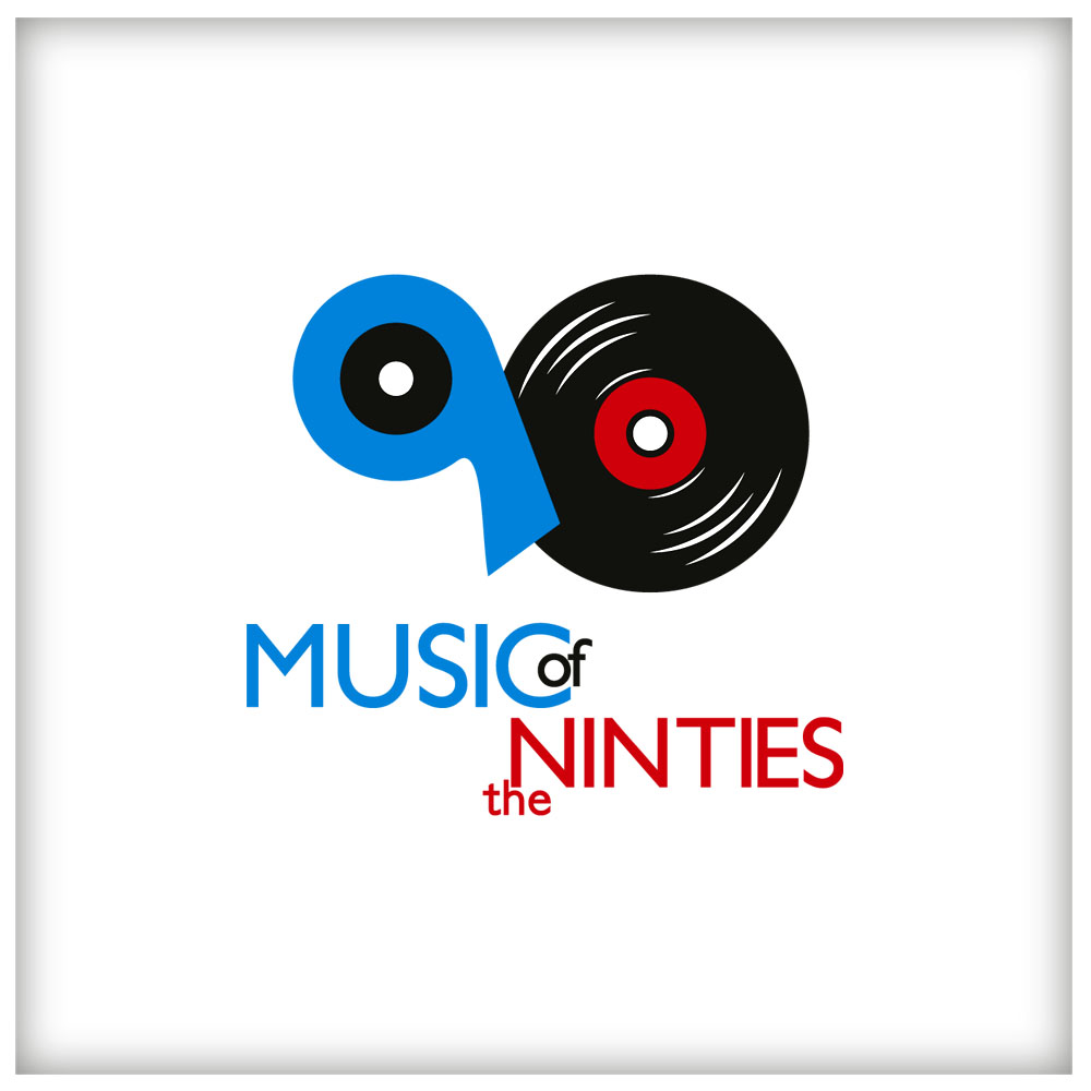 Logo Design by Adrian Chambre - Entry No. 57 in the Logo Design Contest Music of the Nineties Logo.