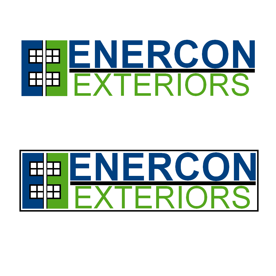 Logo Design by robbiemack - Entry No. 19 in the Logo Design Contest Enercon Exteriors.