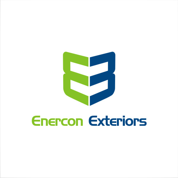 Logo Design by fr - Entry No. 26 in the Logo Design Contest Enercon Exteriors.