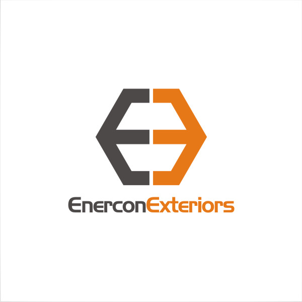 Logo Design by fr - Entry No. 27 in the Logo Design Contest Enercon Exteriors.