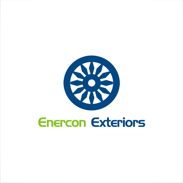 Logo Design by fr - Entry No. 29 in the Logo Design Contest Enercon Exteriors.